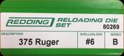 Redding - Full Length Sets - 375 Ruger - 80269