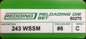 Redding - Full Length Sets - 243 WSSM - 80270