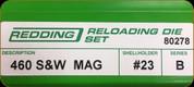 Redding - Full Length Sets - 460 S&W Mag - 80278
