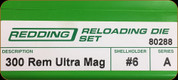 Redding - Full Length Sets - 300 Rem Ultra Mag - 80288