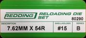 Redding - Full Length Sets - 7.62mm x 54 Russian - 80290