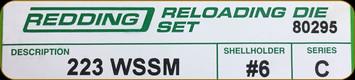Redding - Full Length Sets - 223 WSSM - 80295