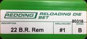 Redding - Full Length Sets - 22 B.R. Rem - 80316