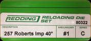 Redding - Full Length Sets - 257 Roberts AI - 80322