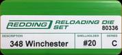Redding - Full Length Sets - 348 Win - 80336