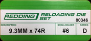Redding - Full Length Sets - 9.3mmx74R - 80346