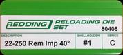 Redding - Full Length Sets - 22-250 Rem AI - 80406