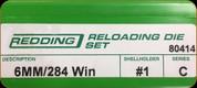 Redding - Full Length Sets - 6mm/284 Win - 80414