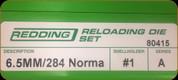 Redding - Full Length Sets - 6.5/284 Norma - 80415