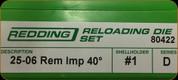 Redding - Full Length Sets - 25-06 Rem AI - 80422