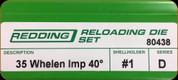 Redding - Full Length Sets - 35 Whelen AI - 80438