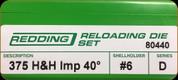 Redding - Full Length Sets - 375 H&H AI - 80440