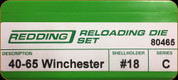Redding - Full Length Sets - 40/65 Win - 80465
