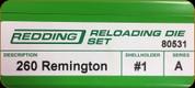Redding - Full Length Sets - 260 Rem - 80531