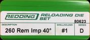 Redding - Full Length Sets - 260 Rem AI - 80623