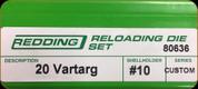 Redding - Full Length Sets - 20 Vartarg - 80636