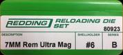 Redding - Full Length Sets - 7mm Rem Ultra Mag - 80923