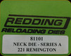 Redding - Neck Sizing Die - 221 Remington - 81101