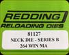 Redding - Neck Sizing Die - 264 Winchester Mag - 81127