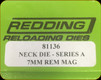 Redding - Neck Sizing Die - 7mm Rem Mag - 81136