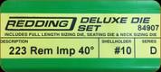 Redding - Deluxe Die Set - 223 Rem AI - 84907