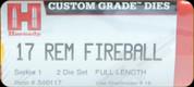 Hornady - Full Length Dies - 17 Rem Fireball - 546117