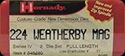 Hornady - Full Length Dies - 224 Wby Mag - 546230
