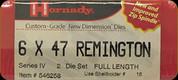 Hornady - Full Length Dies - 6x47 Remington - 546258