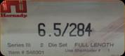 Hornady - Full Length Dies - 6.5/284 - 546301