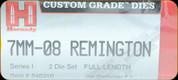 Hornady - Full Length Dies - 7mm-08 Remington - 546316