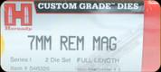 Hornady - Full Length Dies - 7mm Rem Mag - 546326
