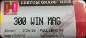 Hornady - Full Length Dies - 300 Win Mag - 546352