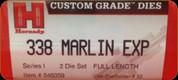 Hornady - Full Length Dies - 338 Marlin Express - 546359
