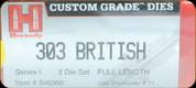 Hornady - Full Length Dies - 303 British - 546366
