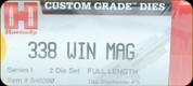 Hornady - Full Length Dies - 338 Win Mag - 546390