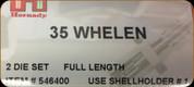 Hornady - Full Length Dies - 35 Whelen - 546400