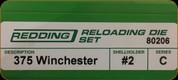 Redding - Full Length Sets - 375 Win - 80206