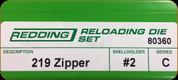 Redding - Full Length Sets - 219 Zipper - 80360