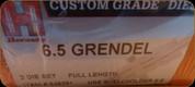 Hornady - Full Length Dies - 6.5 Grendel - 546291