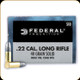 Federal - 22 LR - 40 Gr - Champion Solid High Velocity - Lead Round Nose - 50ct - 510