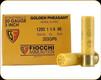 """Fiocchi - 20 Ga 3"""" - 1 1/4oz - Shot 6 - Golden Pheasant - 25ct - 203GP6"""