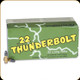 Remington - 22 LR - 40 Gr - Thunderbolt - Lead Round Nose - 50ct - 21238