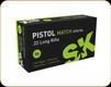 SK - 22 LR - 40 Gr - Pistol Match Special - 50ct - 420144