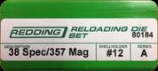 Redding - Full Length Sets - 38 Spec/357 Mag - 80184