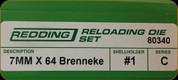 Redding - Full Length Sets - 7mm x 64 Brenneke - 80340