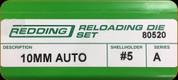 Redding - Full Length Sets - 10mm Auto - 80520