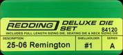 Redding - Deluxe Die Set - 25-06 Remington - 84120