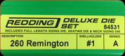 Redding - Deluxe Die Set - 260 Rem - 84531
