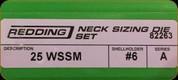 Redding - Neck Die Set - 25 WSSM - 82263