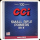 CCI - Small Rifle Bench Rest Primers - BR-4 - 100ct - 0019